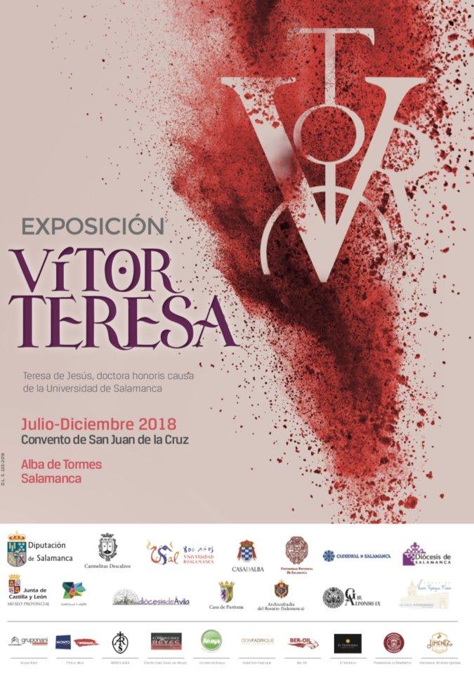 Alba de Tormes Vítor Teresa. Teresa de Jesús, doctora honoris causa de la Universidad de Salamanca 2018