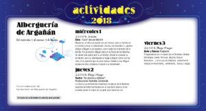 Alberguería de Argañán Noches de Cultura Agosto 2018