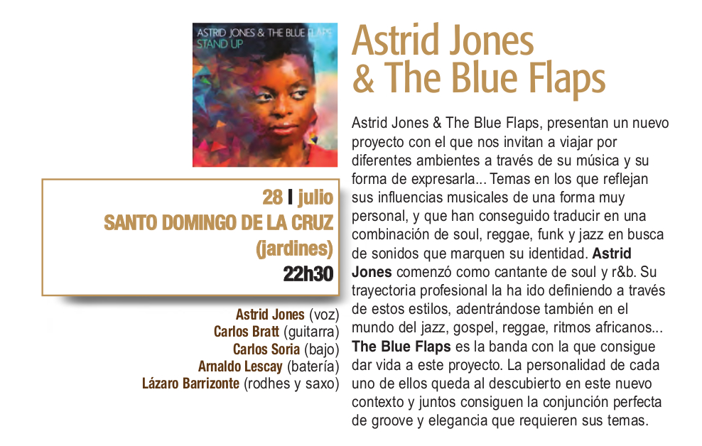Sala de Exposiciones Santo Domingo de la Cruz Astrid Jones & The Blue Flaps Plazas y Patios Salamanca Julio 2018