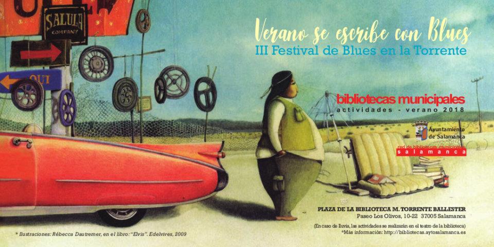 Torrente Ballester III Festival de Blues en la Torrente Salamanca Julio agosto 2018