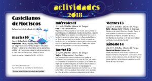 Castellanos de Moriscos Noches de Cultura Julio 2018