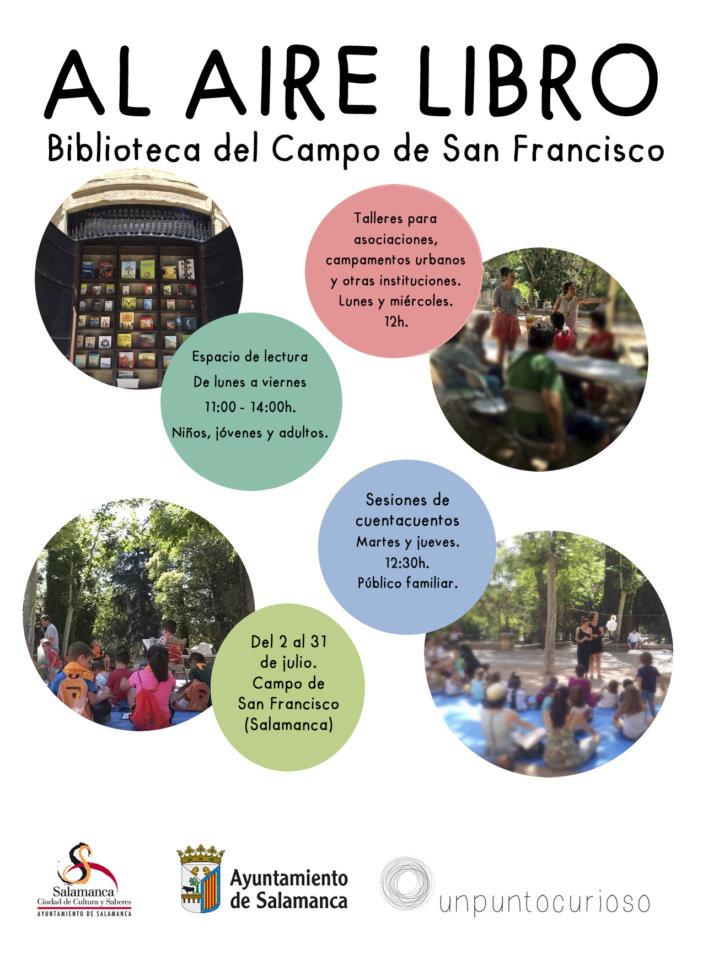 Campo de San Francisco Al aire libro Salamanca Julio 2018