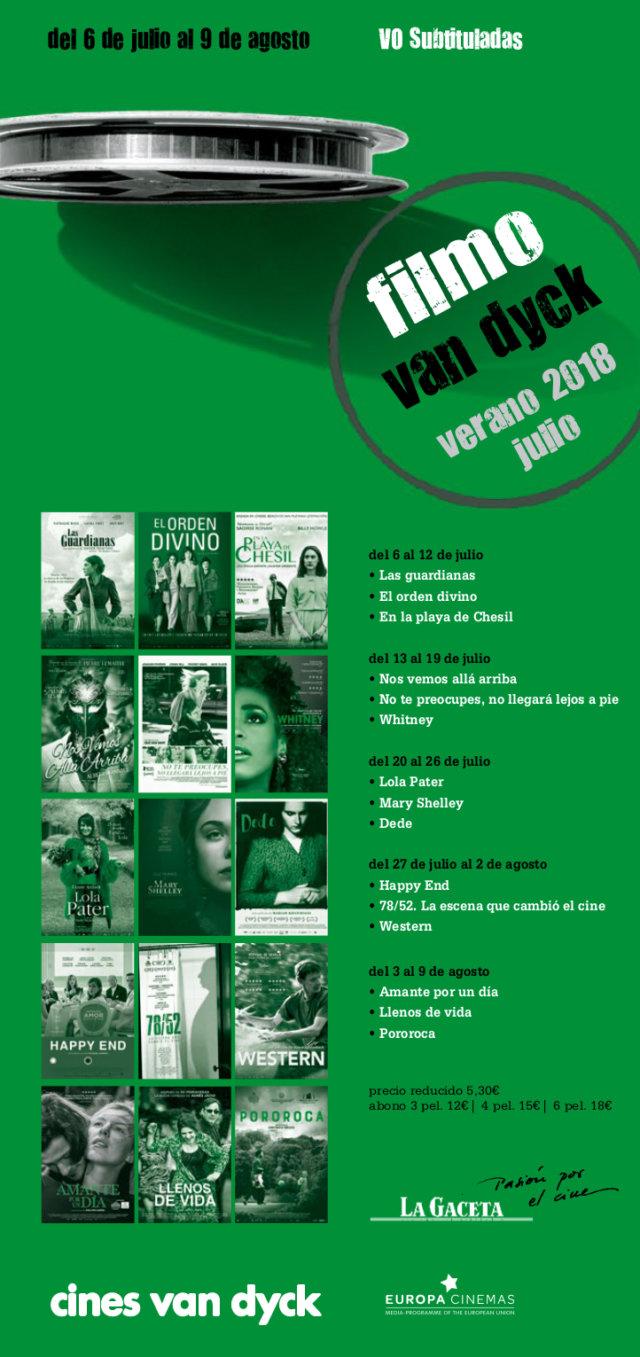 Cines Van Dyck Joven Filmo Van Dyck Salamanca Verano 2018