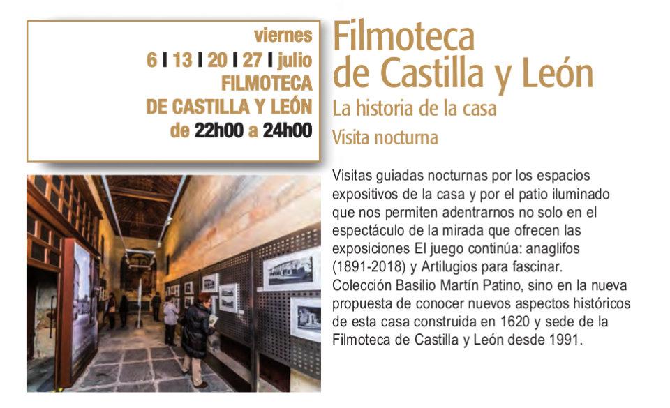 Filmoteca de Castilla y León La historia de la casa Plazas y Patios Salamanca Julio 2018