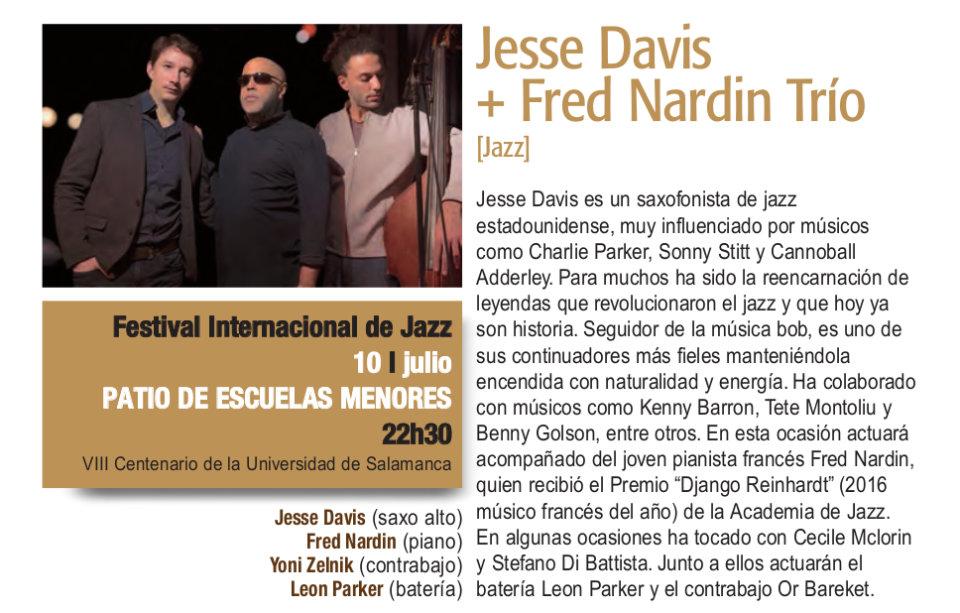 Escuelas Menores Jesse Davis + Fred Nardin Trío Plazas y Patios Salamanca Julio 2018