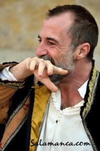 Alfonso Mendiguchía Ruta de los Manuscritos Los Absurdos Teatro Salamanca 2018