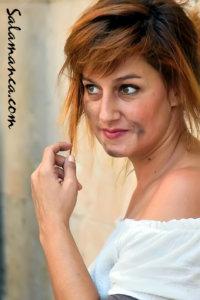 Patricia Estremera Ruta de los Manuscritos Los Absurdos Teatro Salamanca 2018