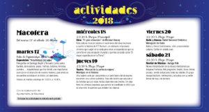 Macotera Noches de Cultura Julio 2018