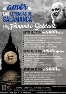Manolita Café Bar Fernando Saldaña Al amor de las leyendas de Salamanca Julio 2018