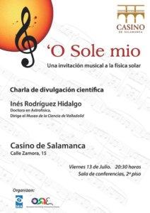 Casino de Salamanca 'O Sole mio Julio 2018