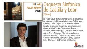 Plaza Mayor Orquesta Sinfónica de Castilla y León Plazas y Patios Salamanca Julio 2018