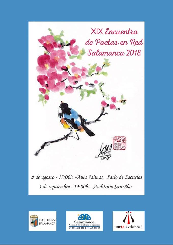 Salamanca XIX Encuentro de Poetas en Red Agosto septiembre 2018