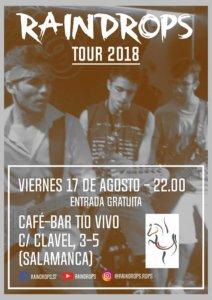 Tío Vivo Raindrops Salamanca Agosto 2018