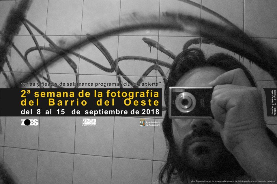 Ferias y Fiestas 2018 II Semana de la Fotografía en el Barrio del Oeste Salamanca Septiembre