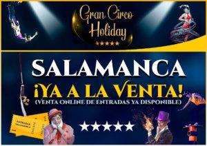 Ferias y Fiestas 2018 Circo Holiday Salamanca Septiembre
