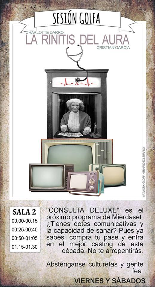 La Malhablada La rinitis del aura Sesión Golfa Salamanca Agosto 2018