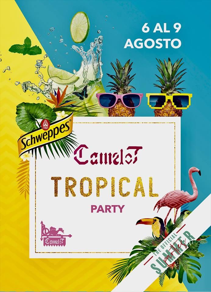 Camelot Tropical Party Salamanca Agosto 2018