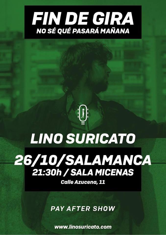Sala Micenas Adarsa Lino Suricato Salamanca Octubre 2018