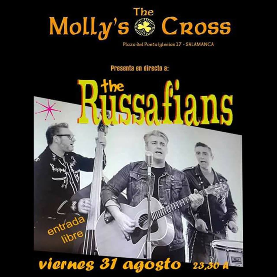 The Molly's Cross The Russafians Salamanca Agosto 2018