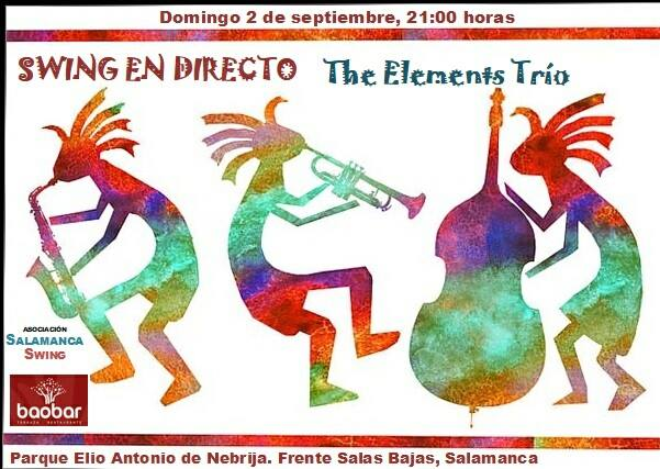 Baobar The Elements Trío Salamanca Septiembre 2018
