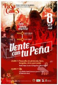 Ferias y Fiestas 2018 Vente con tu Peña Blocco Charro Salamanca Septiembre