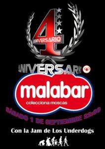 Malabar La Jam de los Underdogs Salamanca 1 de septiembre de 2018