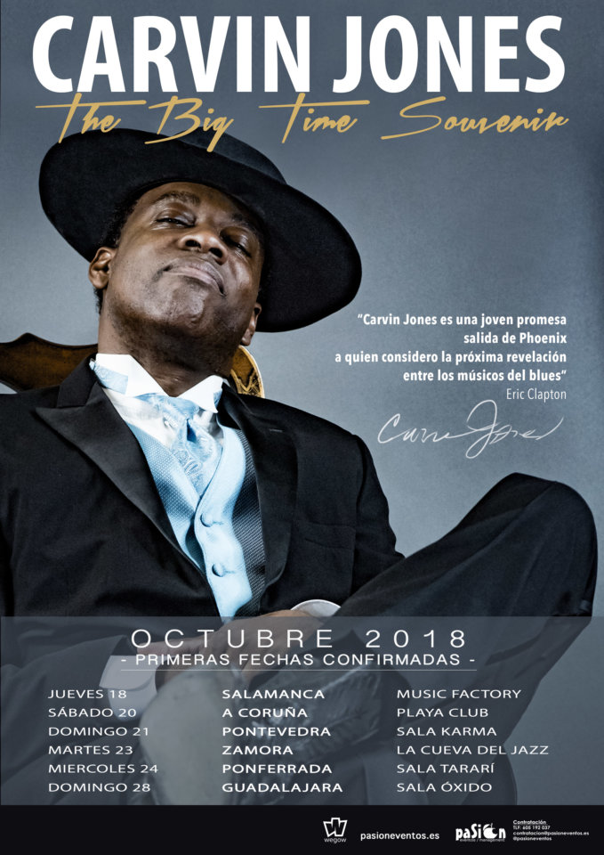 Music Factory Carvin Jones Salamanca Octubre 2018