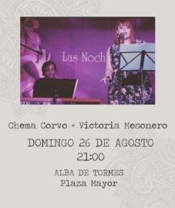 Alba de Tormes Chema Corvo + Victoria Mesonero Agosto 2018