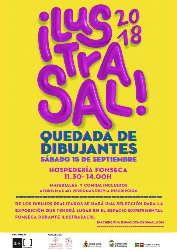 Hospedería Fonseca Quedada de Dibujantes Zink Espacio Emergente Salamanca Septiembre 2018