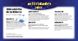 Aldeadávila de la Ribera Noches de Cultura Agosto 2018