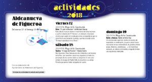 Aldeanueva de Figueroa Noches de Cultura Agosto 2018