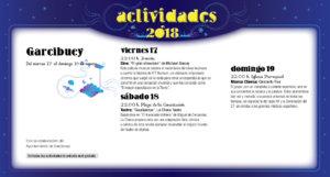 Garcibuey Noches de Cultura Agosto 2018