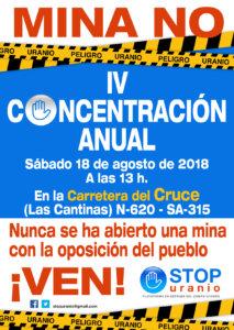 La Fuente de San Esteban IV Concentración Anual Mina No Agosto 2018