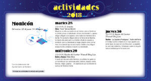 Monleón Noches de Cultura Agosto 2018