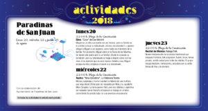 Paradinas de San Juan Noches de Cultura Agosto 2018