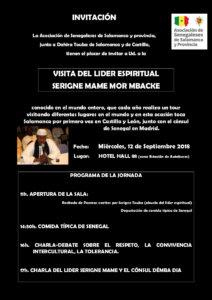 Hall 88 Serigne Mame Mor Mbacké Salamanca Septiembre 2018