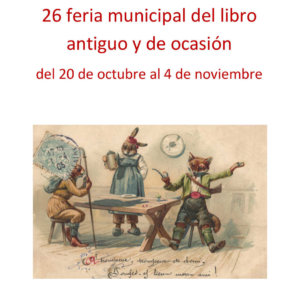 Plaza Mayor XXVI Feria Municipal del Libro Antiguo y de Ocasión Salamanca Octubre noviembre 2018