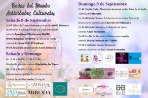 Ferias y Fiestas 2018 Bodas del Mundo Salamanca Septiembre