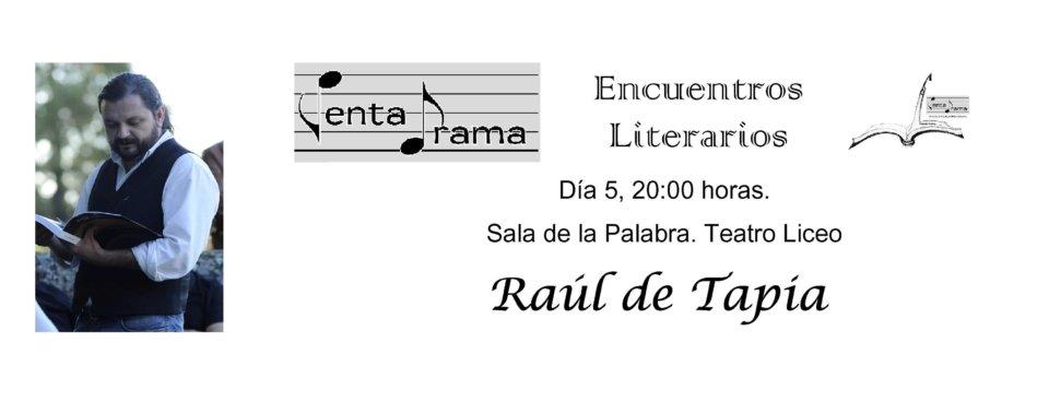 Teatro Liceo Raúl de Tapia Pentadrama Salamanca Septiembre 2018