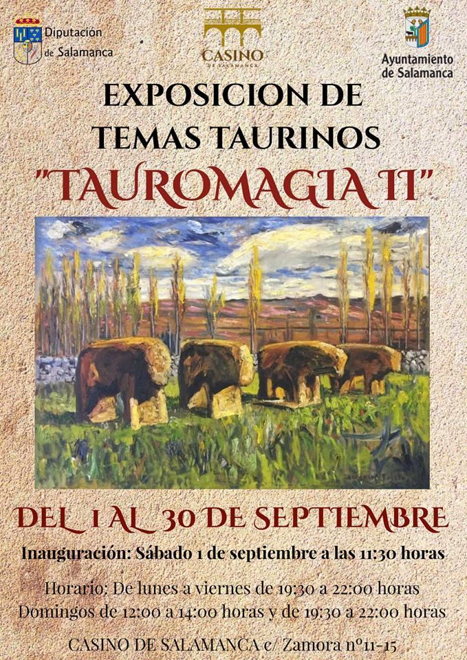 Casino de Salamanca Tauromagia II Septiembre 2018