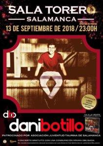 Sala Torero Dani Botillo Salamanca Septiembre 2018