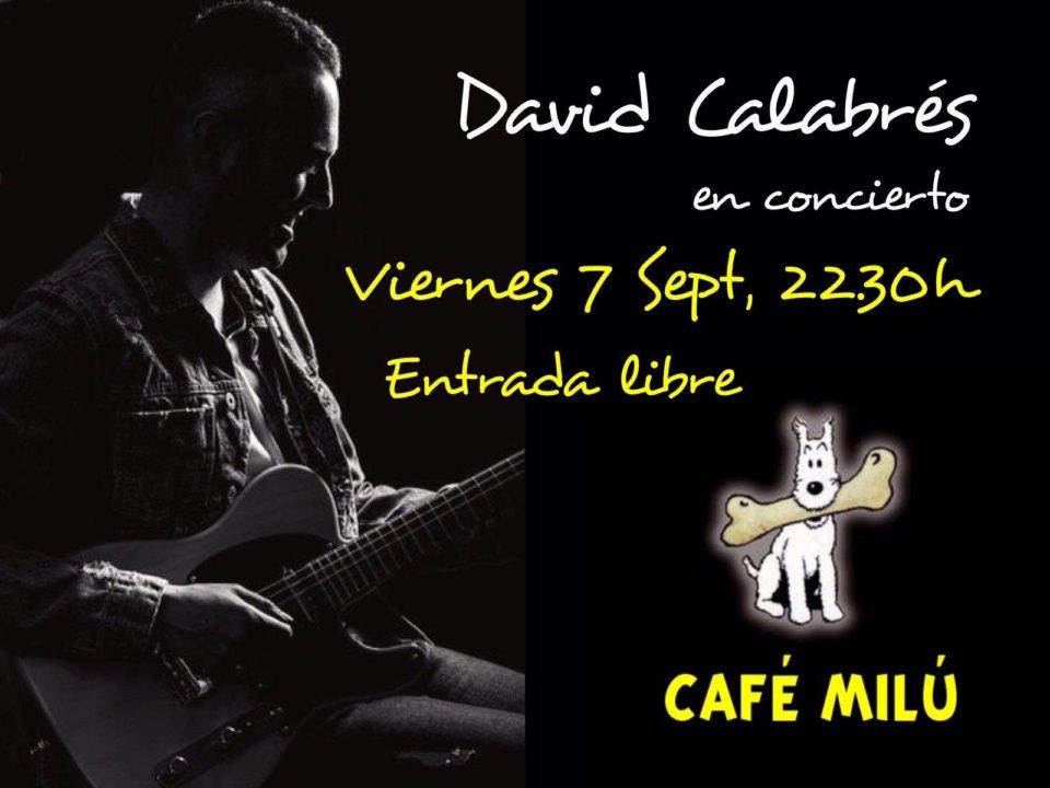 Café Milú David Calabrés Salamanca de Noche Septiembre 2018