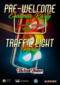 The Irish Theatre Traffic Light Party Salamanca Septiembre 2018