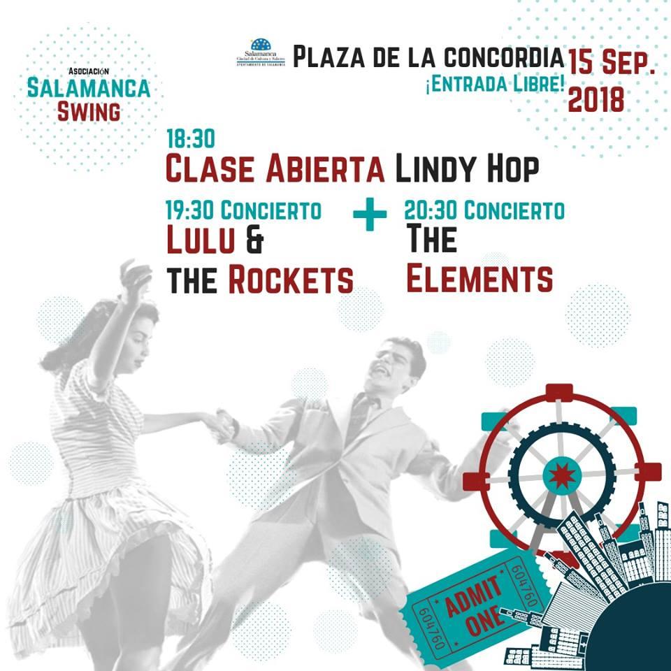 Ferias y Fiestas 2018 Salamanca Swing Septiembre