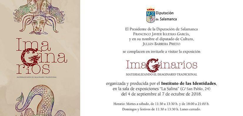 La Salina Imaginarios. Materializando el imaginario tradicional Salamanca Septiembre octubre 2018