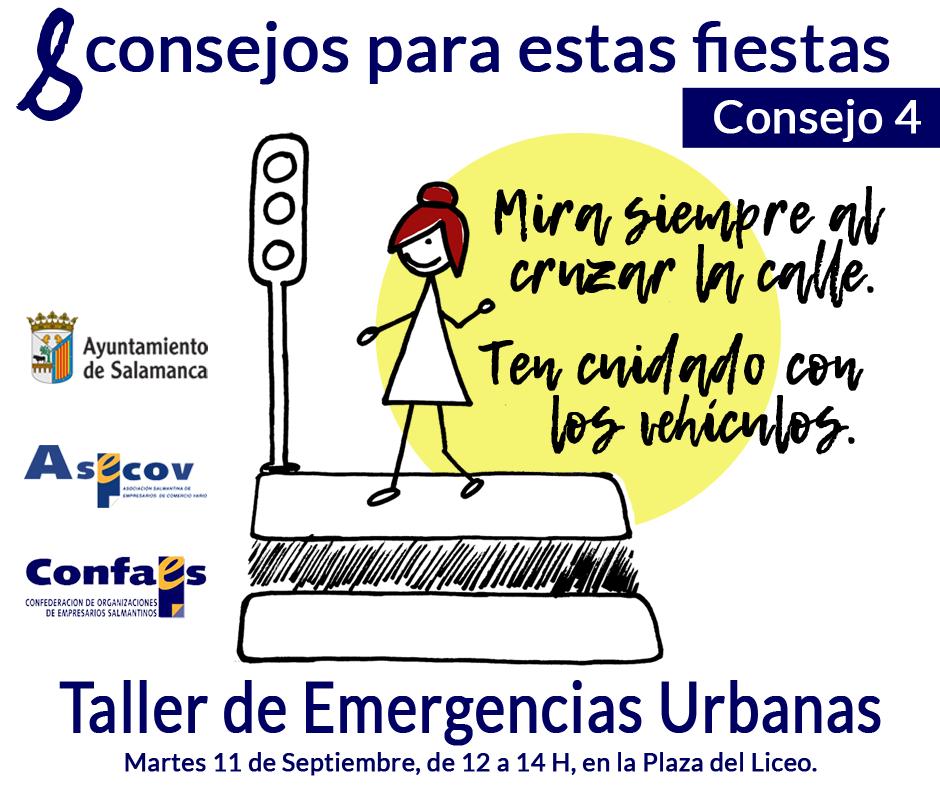 Ferias y Fiestas 2018 Taller de Emergencias Urbanas Salamanca Septiembre