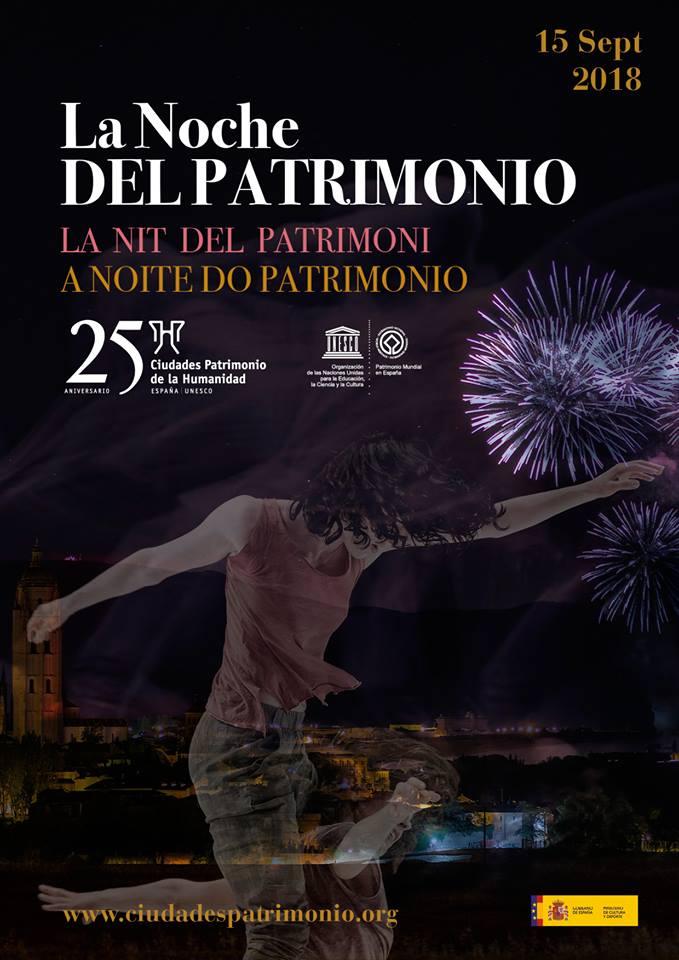 Ferias y Fiestas 2018 La noche del Patrimonio Salamanca Septiembre