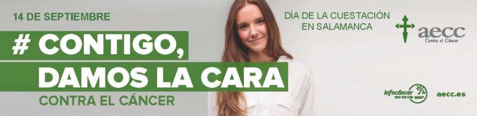 Salamanca Día de la Cuestación Asociación Española Contra el Cáncer AECC Septiembre 2018