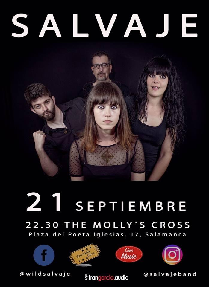 The Molly's Cross Salvaje Salamanca Septiembre 2018