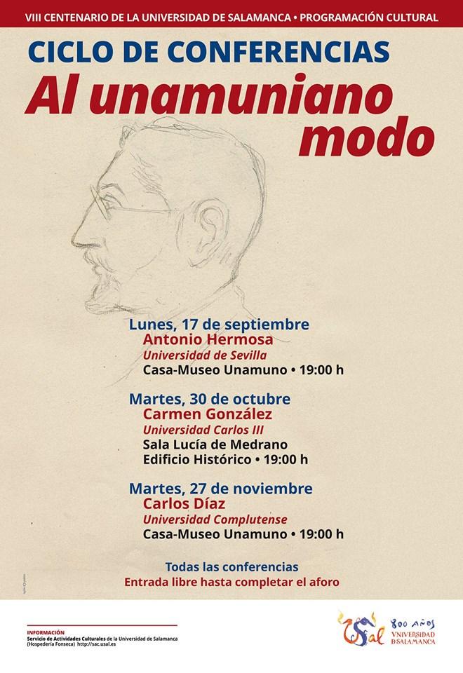 Casa Museo Miguel de Unamuno Al unamuniano modo Salamanca Septiembre octubre noviembre 2018